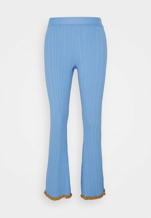 DAHLIA TROUSER - Trousers - blue