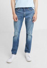 J.CREW - Slim fit jeans - tinted medium indigo wash - 0