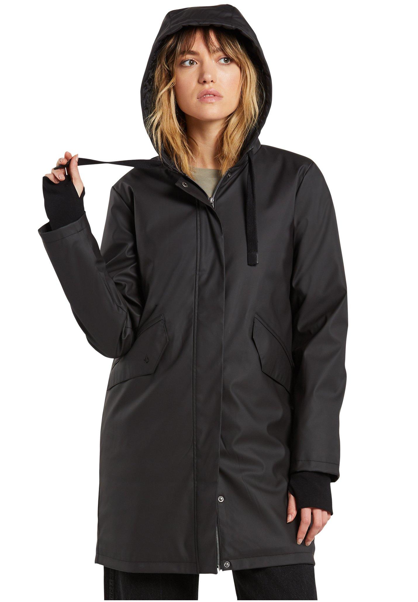 Volcom V Boat Jacke für Damen Schwarz Planet Sports