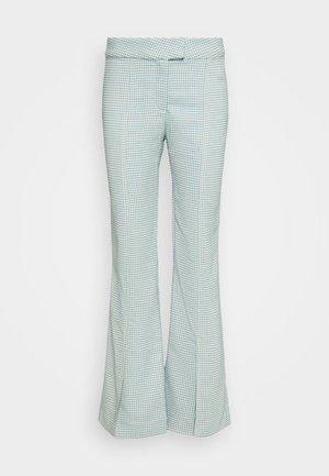 KINNI PLEAT TROUSER - Pantalones - blue