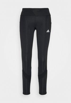 RESPONSE AEROREADY SPORTS RUNNING LEGGINGS - Punčochy - black