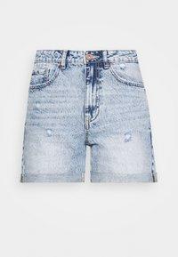 VMJOANA ACID  - Jeansshorts - light blue denim