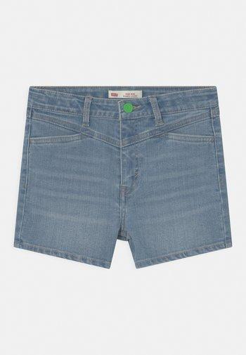 HIGH RISE - Denim shorts - blue denim