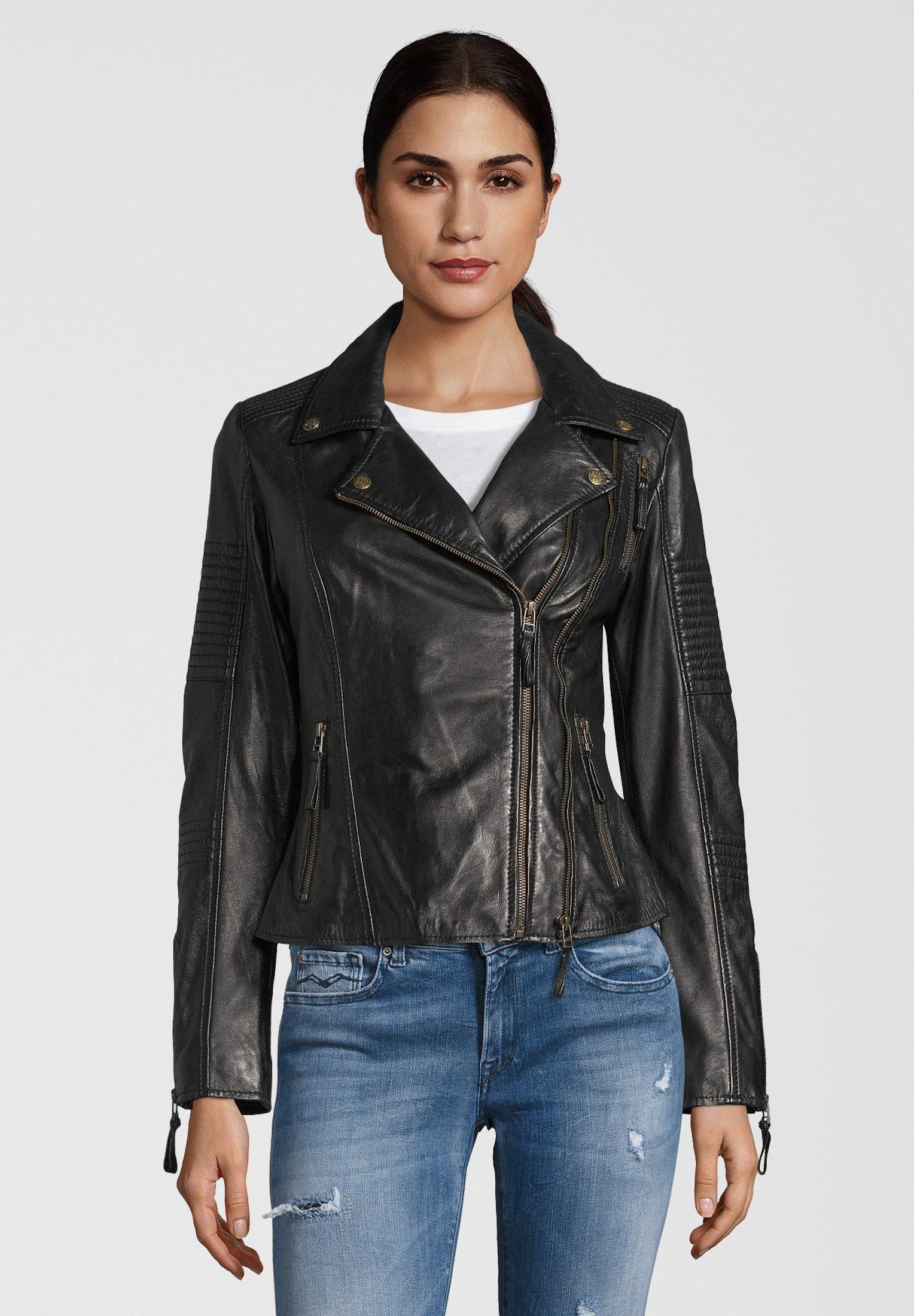 Femme LEDERJACKE MUFFIN - Veste en cuir