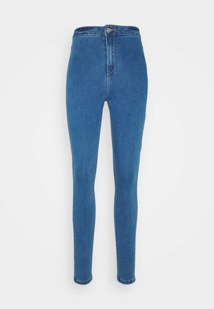 VICE HIGHWAISTED - Jeans Skinny - blue