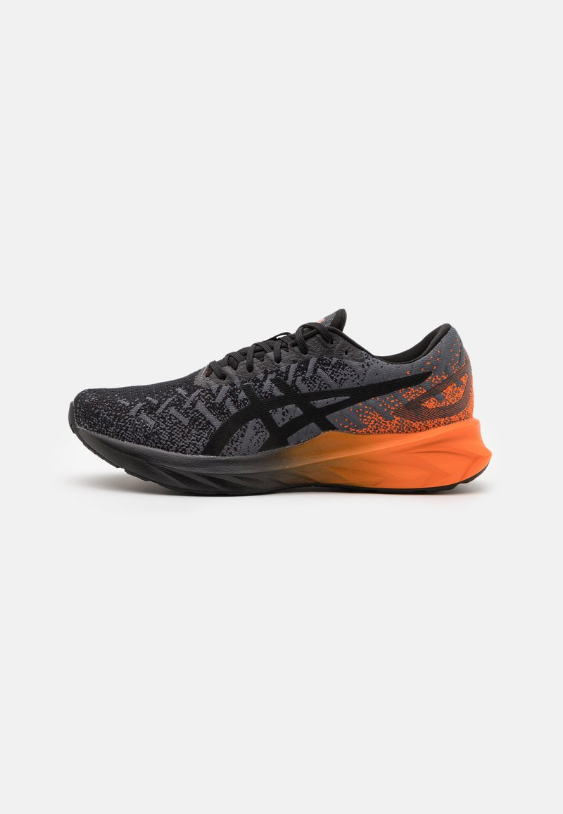 ASICS - DYNABLAST - Neutral running shoes - black/marigold orange