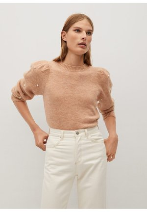 PAPAYA - Strickpullover - braun