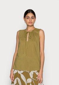 Esprit Collection - BLOUSE - Blouse - olive - 0