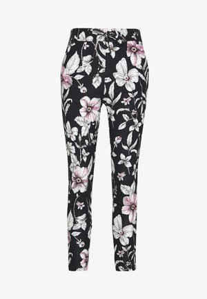 ONLPOPTRASH EASY PRINT PANT - Trousers - night sky