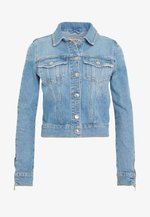 ADELYA ZIP - Denim jacket - dolby