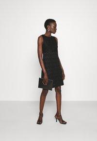 M Missoni - SLEEVELESS DRESS - Jumper dress - black - 1