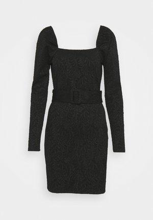 KIRSTEN DRESS - Žerzejové šaty - schwarz