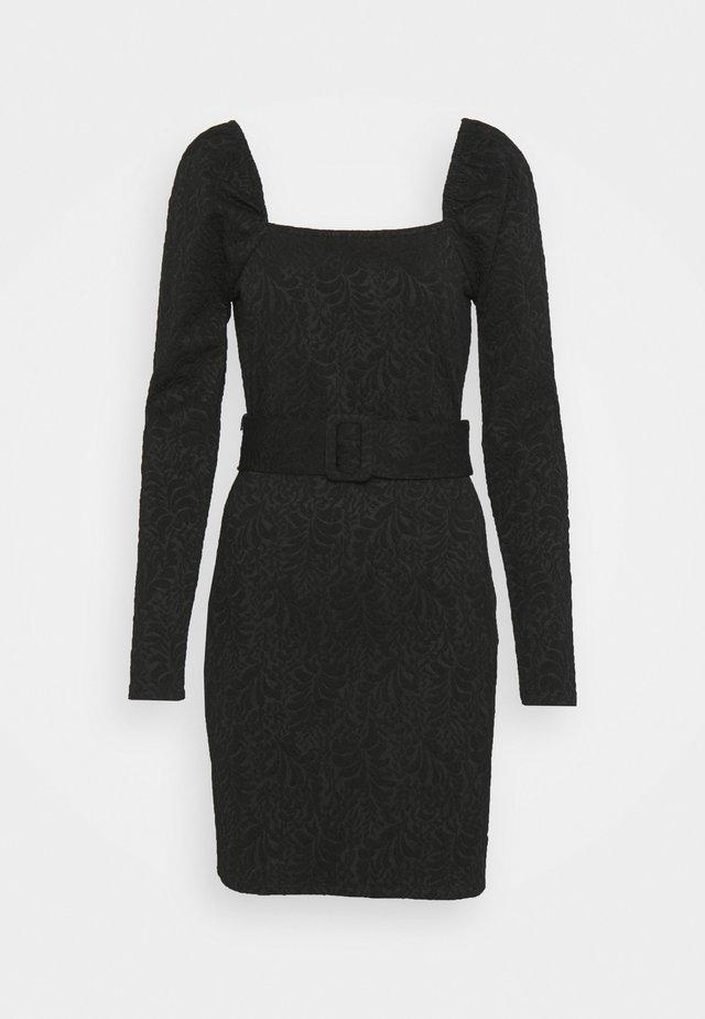 KIRSTEN DRESS - Jersey dress - schwarz