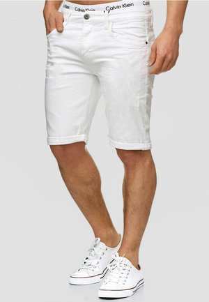 CUBA CADEN - Jeansshorts - offwhite