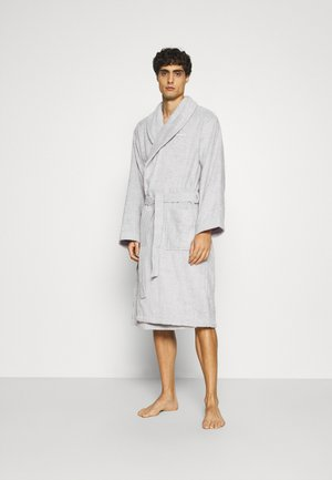 ORGANIC BATHROBE - Bademantel - light grey
