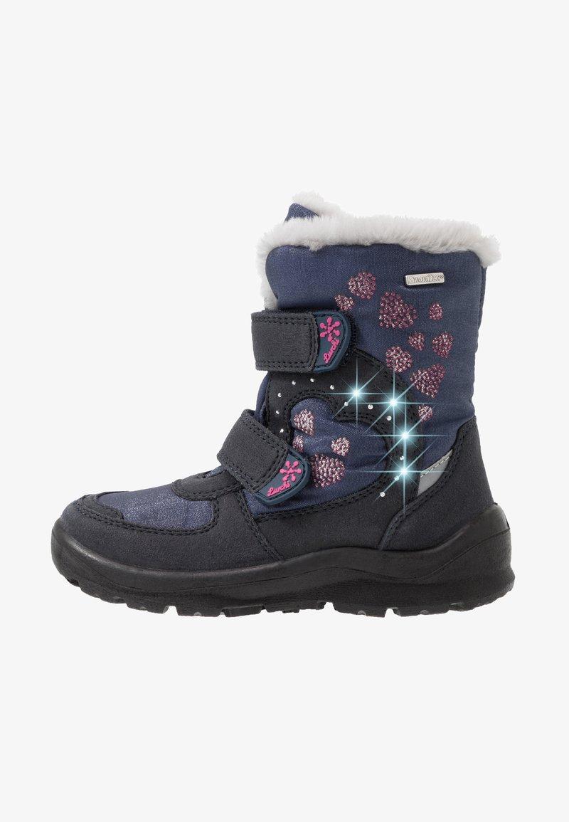 Lurchi - KIMMI-SYMPATEX - Winter boots - atlantic/fuchsia