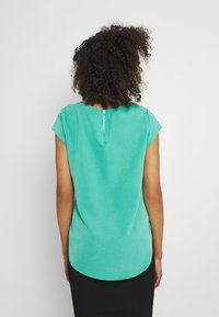 ONLY - ONLVIC S/S SOLID NOOS WVN - Blůza - sea green - 2