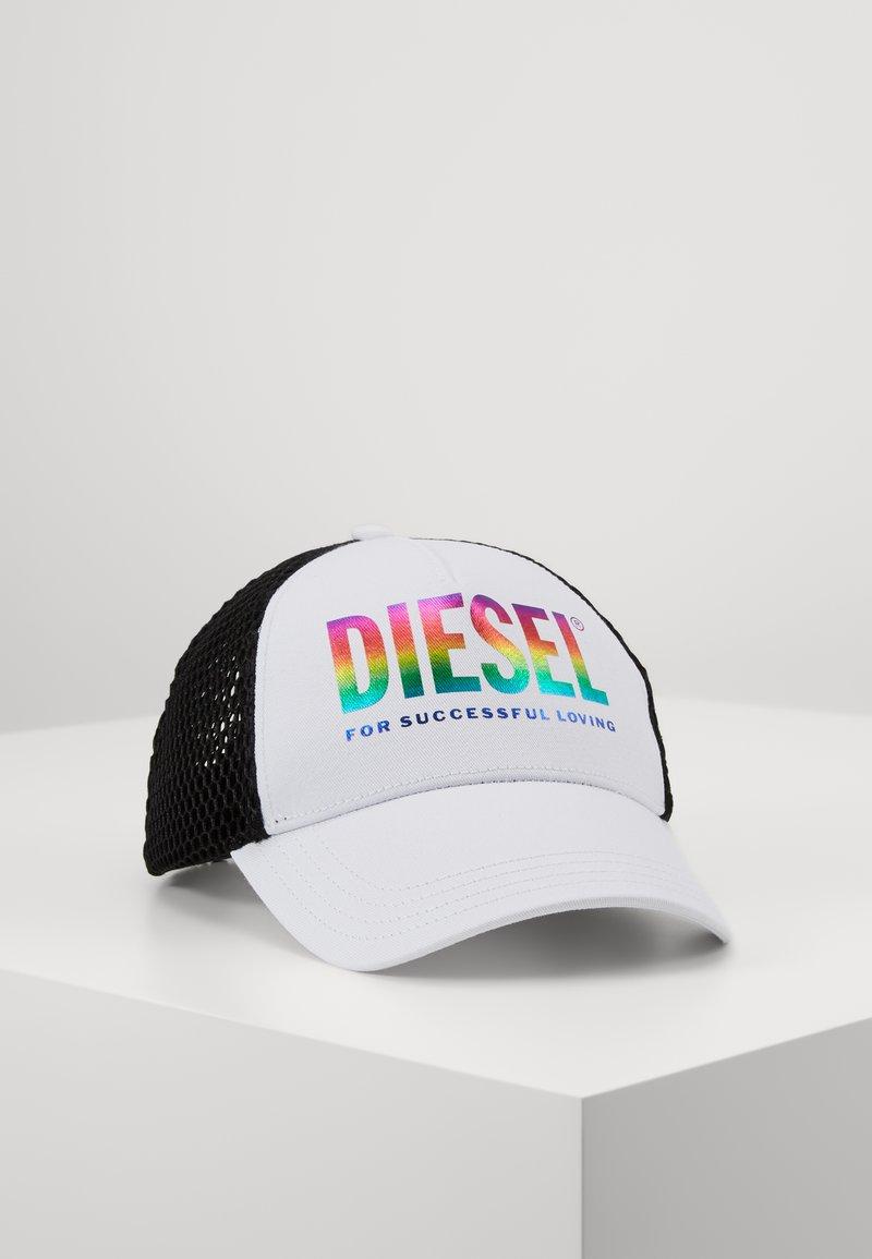 Diesel - CAKERUM-MAX-P - Casquette - white