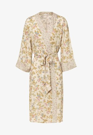 LONG VINTAGE FLORAL - Dressing gown - white