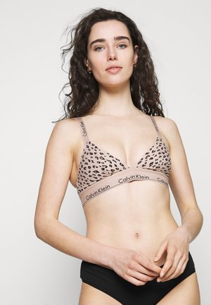 MODERN UNLINED BRALETTE - Triangle bra - honey almond