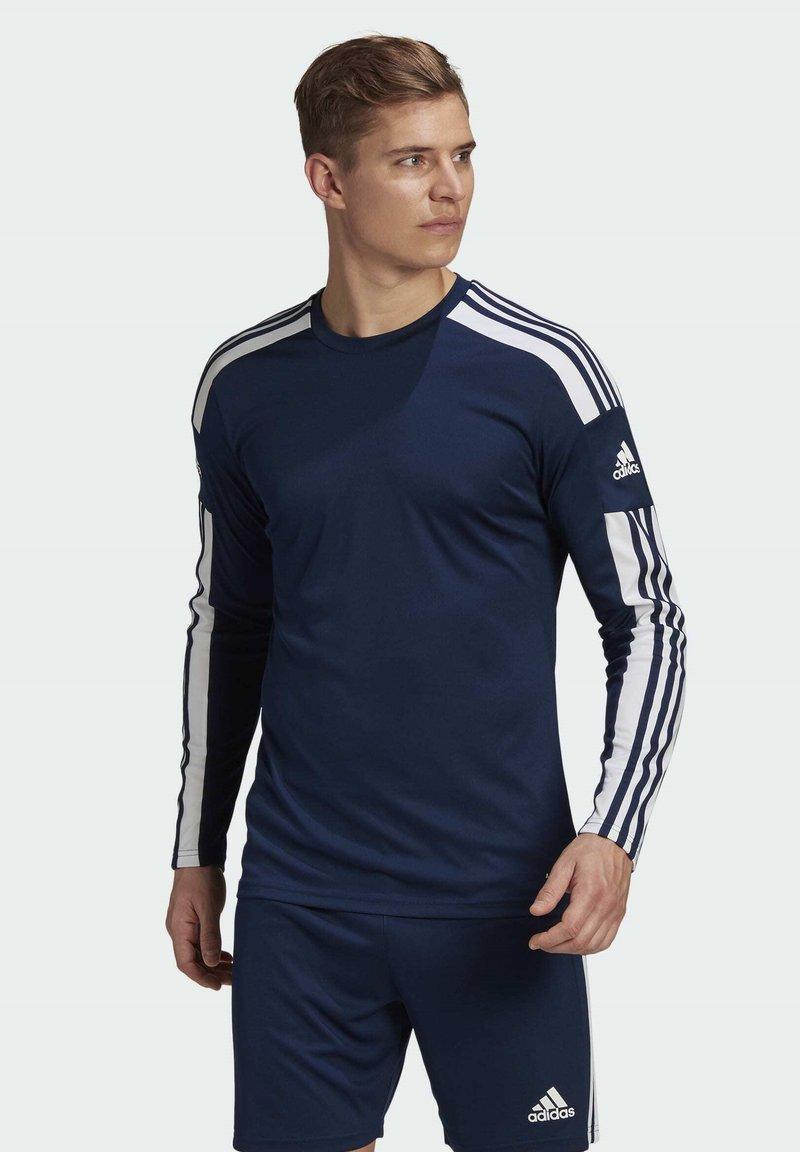 adidas Performance - SQUADRA 21 - Pitkähihainen paita - blue