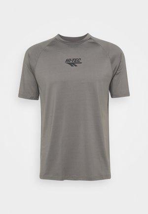 THOMAS BASIC LOGO TEE - Print T-shirt - pewter