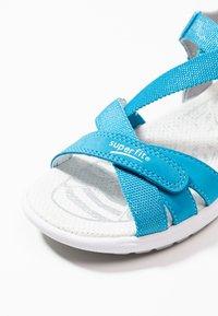 Superfit - RAINBOW - Sandály - blau - 5