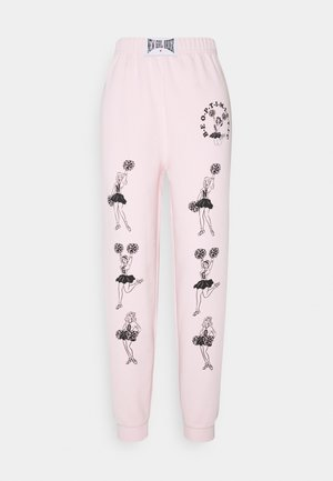 CHEERS - Tracksuit bottoms - pink