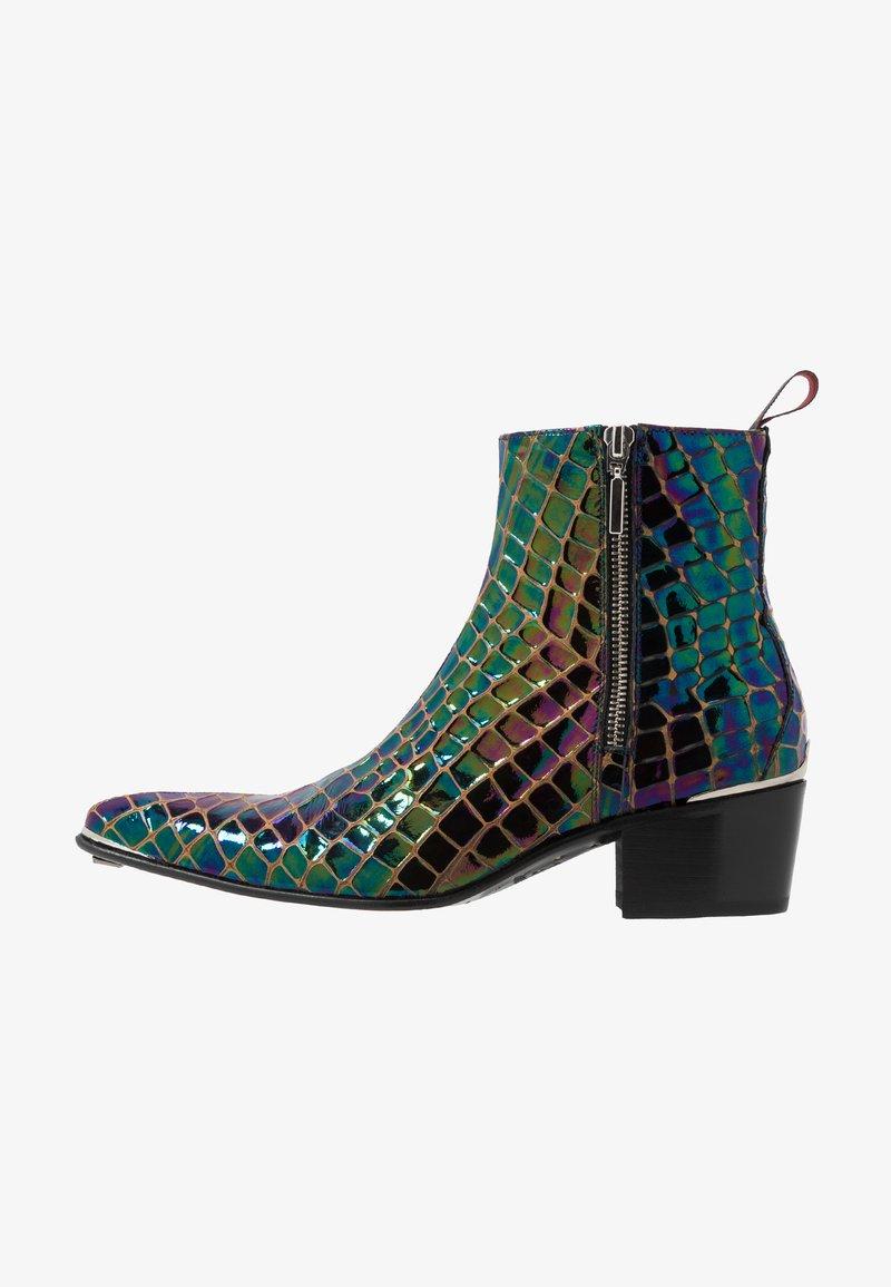 Jeffery West - SYLVAIN DOUBLE ZIP - Classic ankle boots - petol
