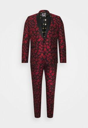 FOSSA SUIT SET - Suit - black/red