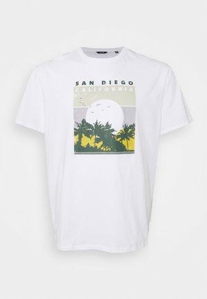 ONSANTHONY LIFE TEE - Print T-shirt - white