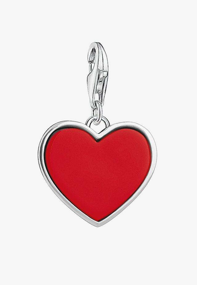 Pendant - silver-coloured/red