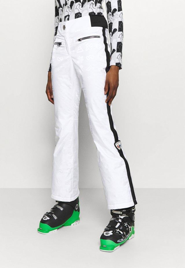 RAINBOW SKI - Pantaloni da neve - white