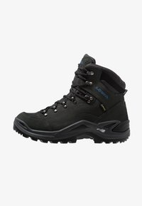 Lowa - RENEGADE GTX MID - Hiking shoes - anthrazit/stahlblau - 0