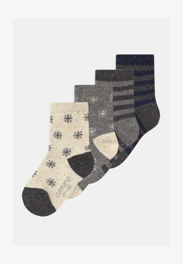 ONLINE CHILDREN 4 PACK UNISEX - Socks - off-white