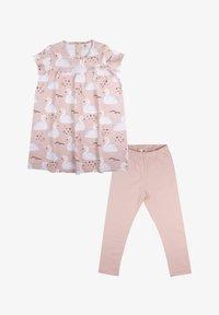 Walkiddy - Jersey dress - princess swans - 0
