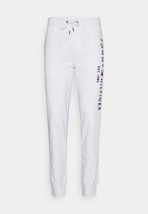 BASIC BRANDED - Teplákové kalhoty - white