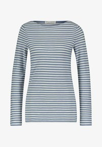 Marc O'Polo - AUS ORGANIC QUALITÄT - Long sleeved top - bleu - 0