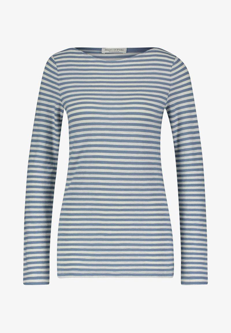 Marc O'Polo - AUS ORGANIC QUALITÄT - Long sleeved top - bleu