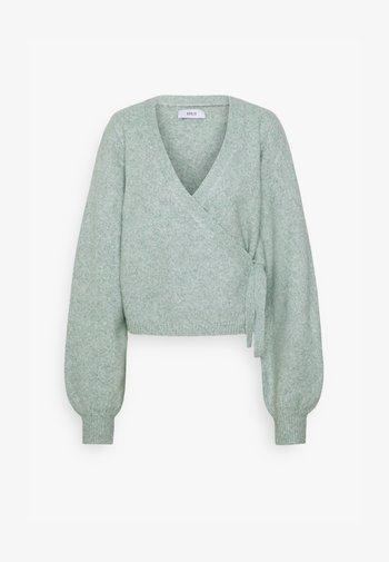 ENSOYA  - Cardigan - light green