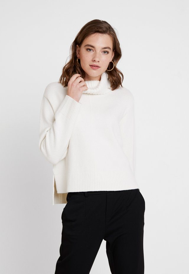 TORI ROLL NECK JUMPER - Neule - porcelain