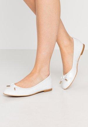 Ballet pumps - blanc