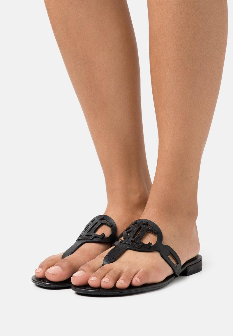 Lauren Ralph Lauren - AUDRIE - T-bar sandals - black