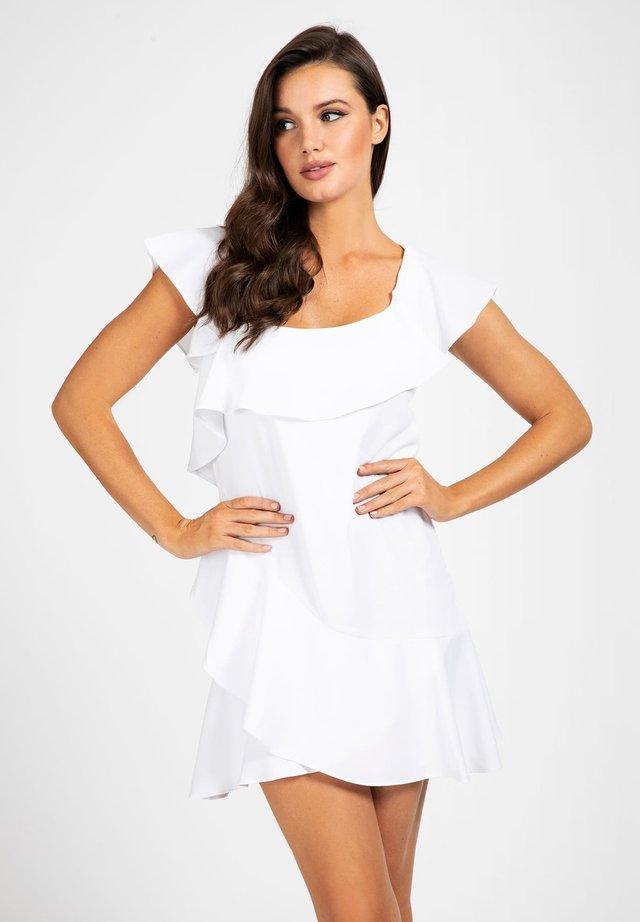 Sukienka koktajlowa - bianco