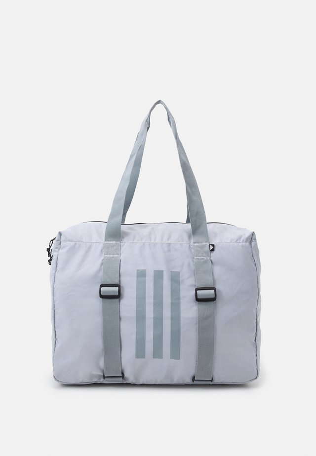 CARRY BAG - Sports bag - halo silver/halo green/black