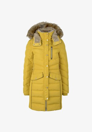 SIGNATURE PUFFER COAT - Winter coat - california sand yellow