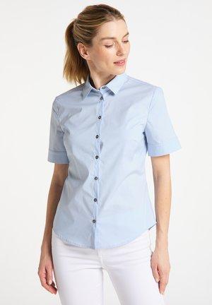 Button-down blouse - hellblau