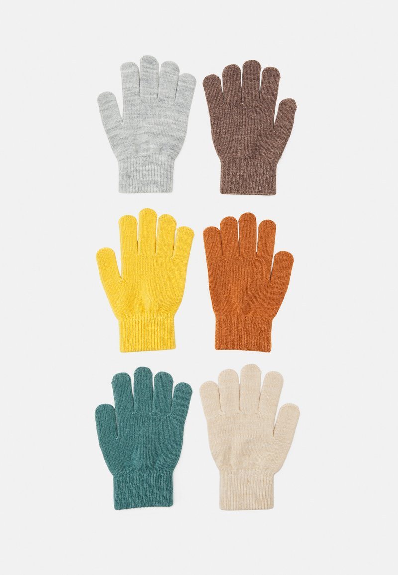 Lindex - GLOVES MAGIC COLOR 6 PACK UNISEX - Gloves - dusty turquoise