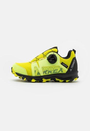 TERREX  AGRAVIC BOA R.RDY UNISEX - Hiking shoes - acid yellow/core black/hi-res yellow