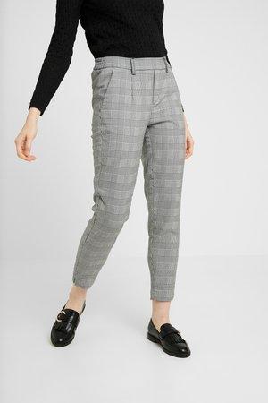 OBJLISA  - Chino kalhoty - gardenia/black